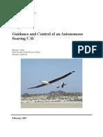 UAV Guidance & Control