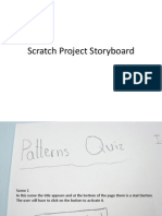 Scratch Project Storyboard