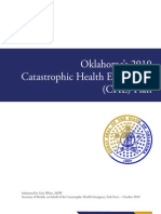 Oklahoma 2010 Catastrophic Health Emergency Plan FINAL