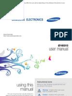 GT-B3313_ User Manual