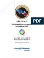 CyberPatriot IV Competitors Guide
