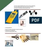 Fish Processing Tools & Equipt