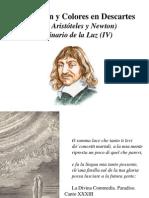 Luz, Visión y Colores en Descartes (entre Aristóteles y Newton). Seminario de la Luz IV