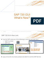 What's New - SAP GUI 720