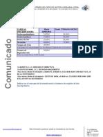 Realceppa Modelo Comunicado Precios Sieger