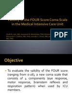 Four score validity