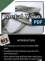 Metal Yarn