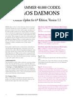 m2570038a Chaos Daemons v1.1