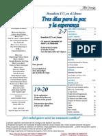 Semanario Católico Alfa y Omega. nº 799. 20 Septiembre 2012
