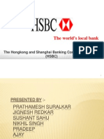Presentation on Hsbc BaNK