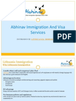 Lithuani Immigration