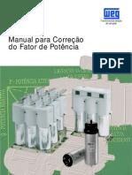 Manual para correção do fator de potência - WEG