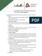 1 Formato Para La Elaboracion Del Documento Recepcional