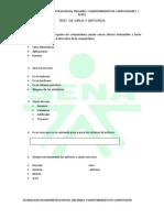 Test de Virus y Antivirus