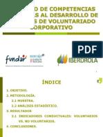 """Estudio """"Competencias asociadas al desarrollo de acciones de Voluntariado Corporativo"""""""