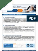 Informationen Zur Kuendigung Der Kfz Versicherung TARIFCHECK24.com