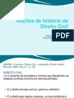Nocoes de Historia Do Direito Civil