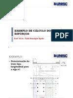 5 Exemplos e Exercicios de Calculo Dos Esforcos - pontes