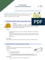 Equipamentos de Protecção Individual (EPI)