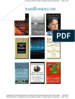 Richard Dawkins - His Research and Books