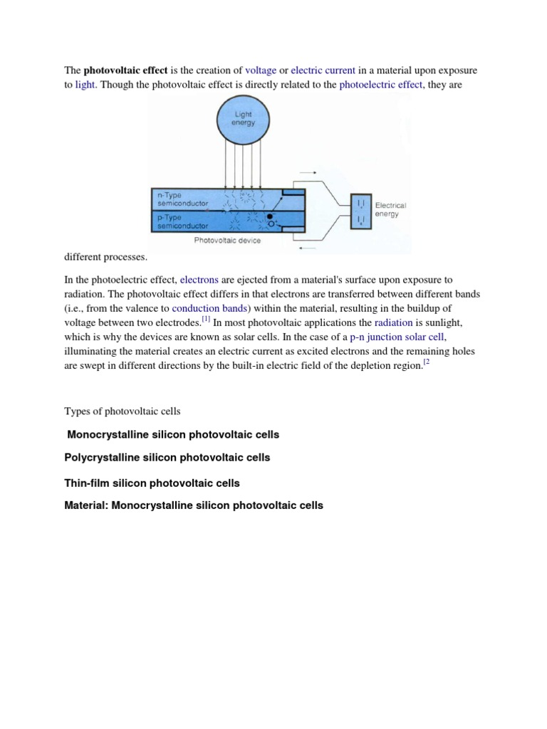 Kda Solar Cell Photovoltaics And Motor Circuit With Electron Flow