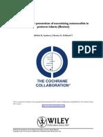 Revisión Cochrane ECN