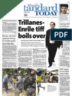 Manila Standard Today - Friday (September 21, 2012) Issue