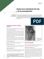03.- Examen de La Artriculacion de Codo y Pronosupinacion