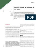 08.- Evaluaciones Articulares Del Tobillo y El Pie en El Adu