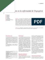 Rehabilitacion en La Enfermedad de Dupuytren