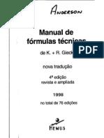 Manual de FórmulasTécnicas