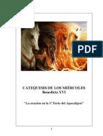 34.  La oración en la 1ª Parte del Apocalipsis - Benedicto-XVI