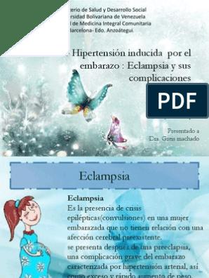 Complicaciones de los laboratorios de hipertensión inducida por el embarazo