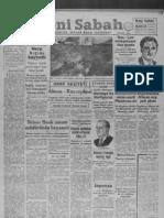 Yeni Sabah - Ağustos 1941 - I