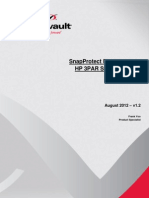 CommVault SnapProtect Field Guide for HP 3PAR Storage