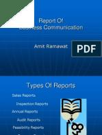 Report on communication