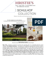 Christie's New York - The Schulhof Collection - Modern Post-War And Contemporary Art - Nov 2012