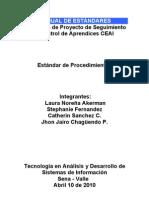 Estándar de documentación en TI-ES-01-01-02