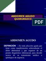 Abdomen Agudo Andres