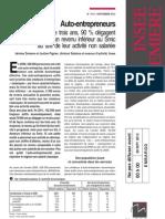 Auto-Entrepreneurs Etude INSEE