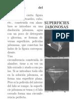 Superficies jabonosas