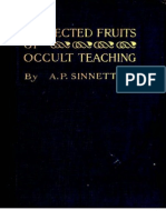 Collected Fruits of Occult Teaching by a.P.sinnett (1920)