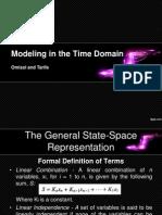 Modeling Time Domain