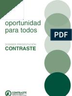 Contraste-Comercio justo