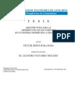 Arquitectura para la distribucion de documentos de un sistema distribuido a gran escala