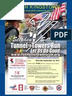 2012 Word Flyer for the Run MAVERICK