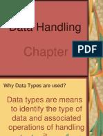 Ch 7 Data Handling