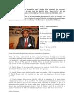 """LA SENTADA DE LOS PUEBLOS QUE PIDEN LOS NDOWÉ EN GUINEA ECUATORIAL DESDE 2010, LA PIDEN LOS """"BA-KONGO"""" EN LA REPÚBLICA DEL CONGO (CONGO BRAZAVILLE) DESDE JUNIO DEL 2011"""