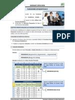 Practica 4 - Funciones Estadisticas I - Excel 2010