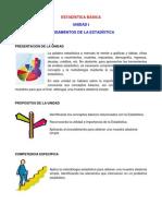 Unidad I.- Fundamentos De Estadística